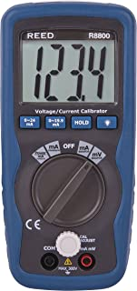 REED Instruments R8800 Voltage/Current Calibrator, 199.99mV/19.99mA