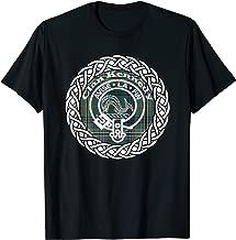 Kennedy surname Scottish clan tartan crest badge t-shirt