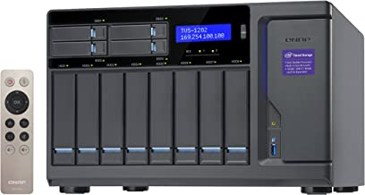 QNAP 12 Bay NAS/iSCSI IP-SAN, Intel Skylake Core i7-6700 3.4 GHz Quad Core (TVS-1282-i7-32G-US)
