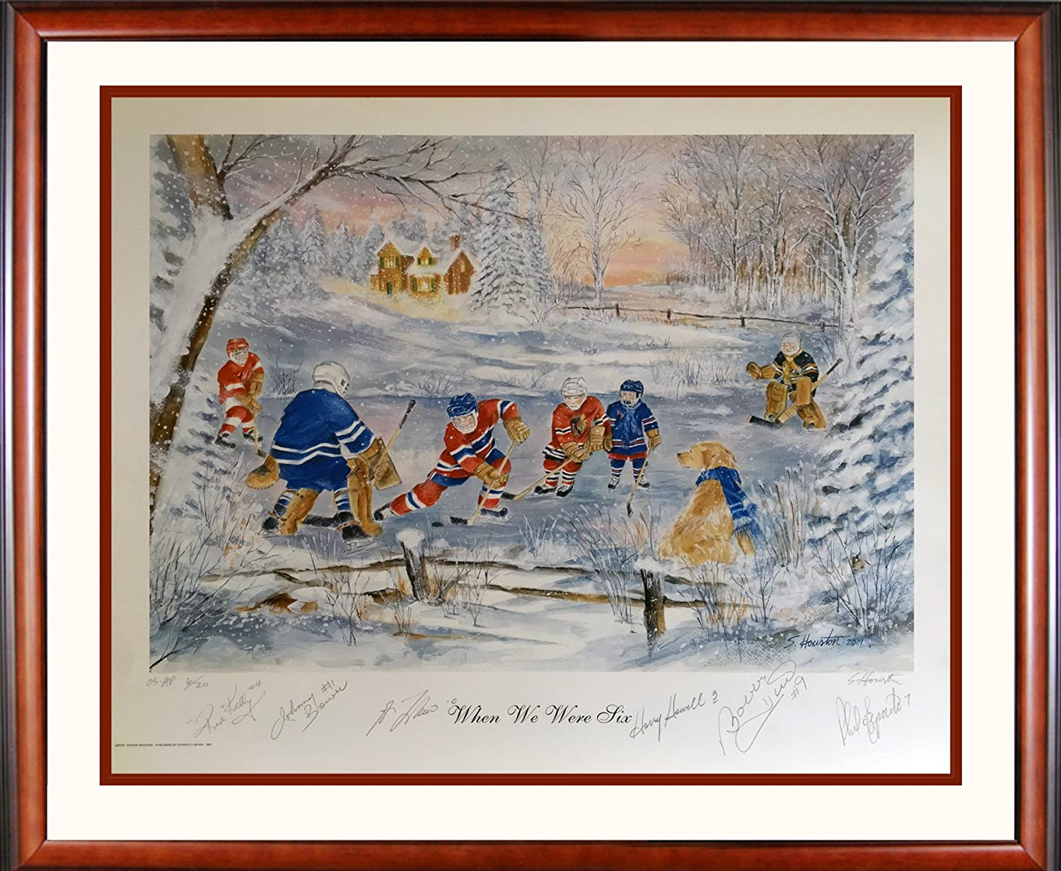 Ltd  20 Signed Kelly, Howell, Bower, Hull, Lafleur, Esposito  When We Were Six