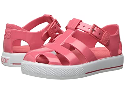 Igor Tenis Solid (Toddler/Little Kid) (Coral) Girl