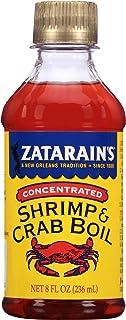 Zatarain`s Concentrated Shrimp & Crab Boil, 8 fl oz (Pack of 12)