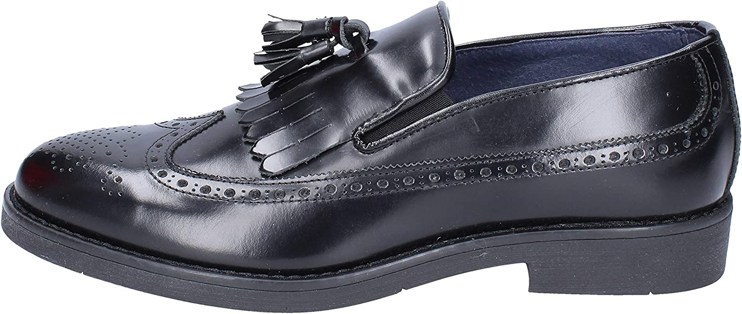 OSSIANI Loafers-shoes Mens Leather Black