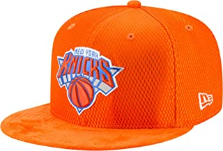 New Era New York Knicks Fitted Hat 59Fifty Basketball Flat Bill Baseball Caps