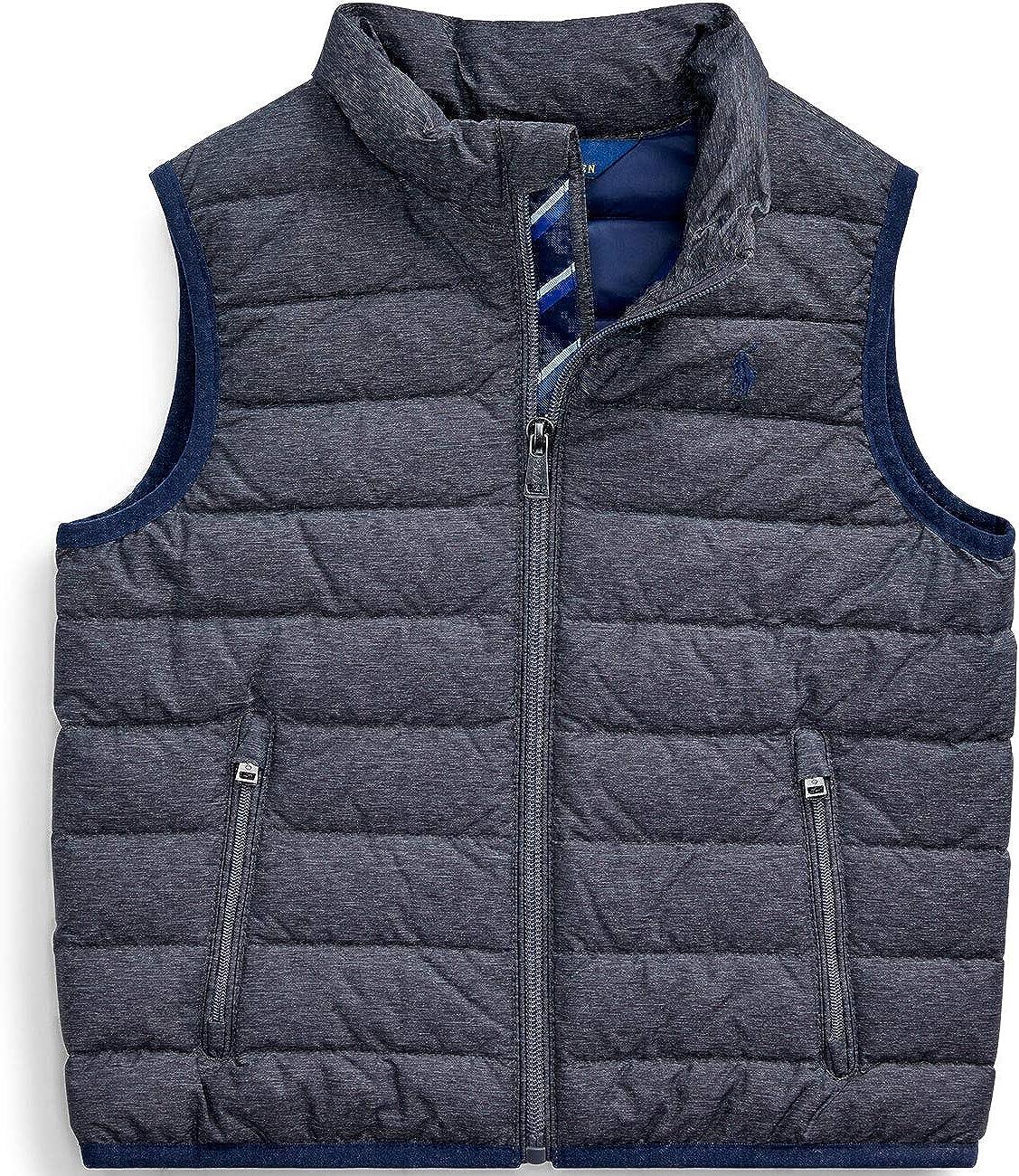 Ralph Lauren Polo Boys Performance Jacket Vest Small 8