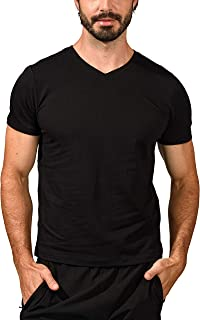90 Degree By Reflex Mens Super Soft V Neck Short Sleeve T Shirt