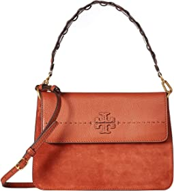 Mcgraw Mixed Strap Shoulder Bag