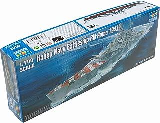Trumpeter 1/700 RN Roma Italian Navy Battleship 1943 Model Kit