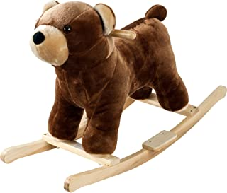 Happy Trails Plush Rocking Barry Bear with Sounds Ride On