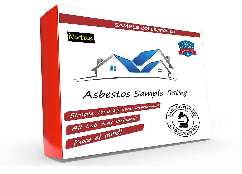 Asbestos Test Kit 1 PK 24Hr Time Certif Max 79% OFF Ranking TOP7 Lab Turnaround —#1