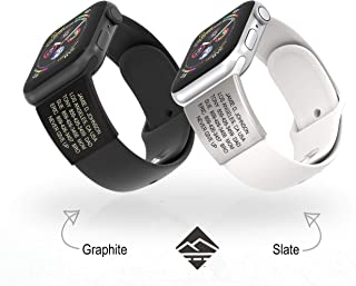engrave apple watch band