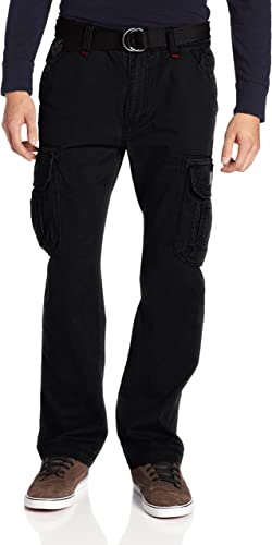 Unionbay Hommes's Survivor Iv Relaxed Fit voiturego Pant - Reg and Big and Tall Tailles, noir, 32x34