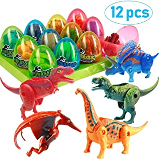 Marysay Dinosaur Toys Dino Eggs Dig Kit 12 Pack Dinosaur Fossil Excavation Toys for Boys Girls Science STEM Toys for Kids Toddlers