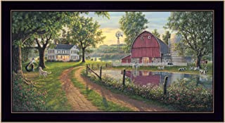 Trendy Decor4U The The Road Home By Kim Norlien Printed Wall Art, 39 Inch x 21 Inch