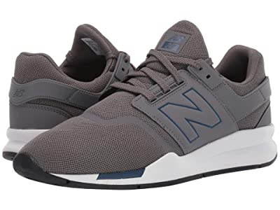 New Balance Classics 247v2 (Techtonic Blue/Castlerock Synthetic/Mesh) Men