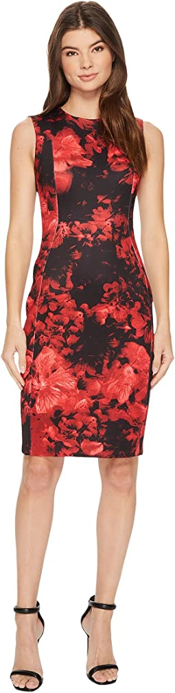 Calvin Klein - Flower Print Sheath CD7MC83X