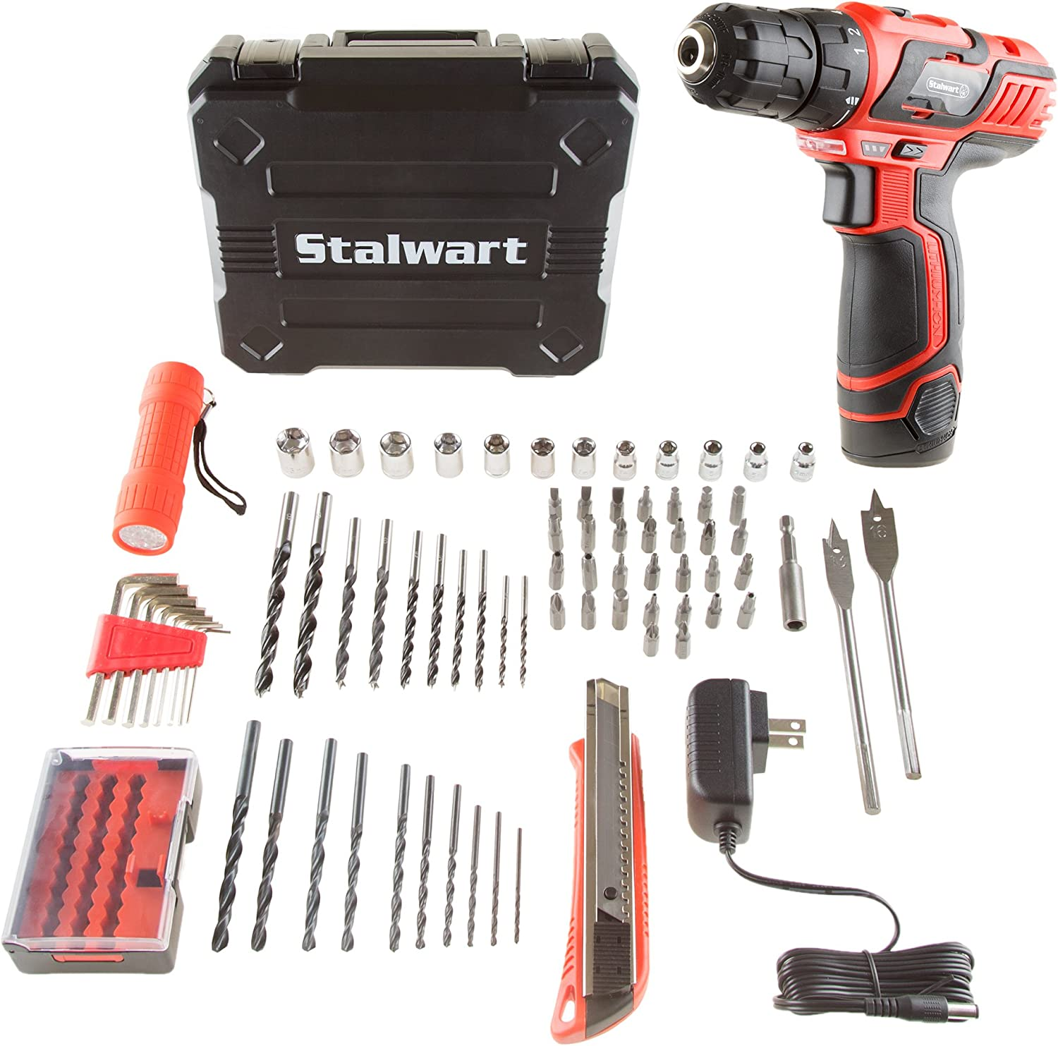 Max 42% OFF Stalwart 75-PT1003 12V Max 57% OFF Lithium Ion 75 2 Drill Pc Accesso Speed