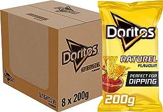 Doritos Dippas Naturel Tortilla Chips, Doos 8 stuks x 200 g