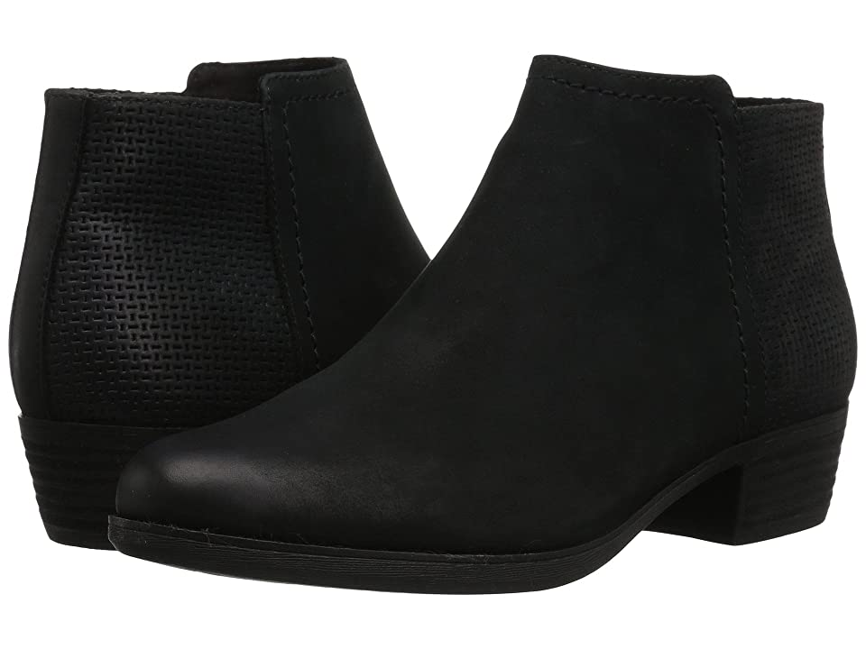Rockport Vanna 2-Part (Black Nubuck) Women