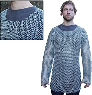 Armory Replicas Medieval Knights Full Sleeve Hauberk Chainmail Medium
