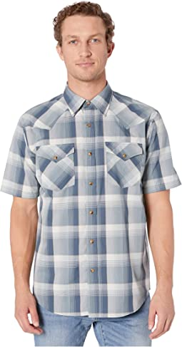 Blue/Grey/Tan Plaid