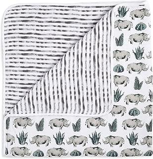 aden + anais Classic White Label Dream Blanket, Serengeti