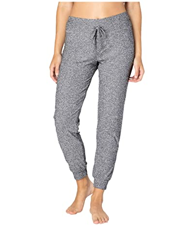Beyond Yoga Lounge Around Midi Joggers (Black/White SD) Women