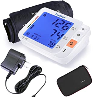 Tediver Digital Blood Pressure Monitor, Large Cuff 0.7-1.3 Feet - Automatic Upper Arm