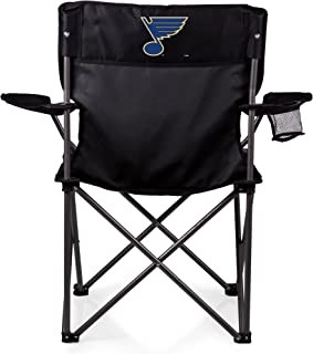 PICNIC TIME NHL Columbus Blue Jackets Portable Folding Sports Chair