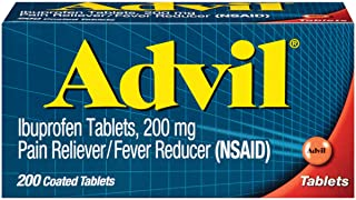 Best Advil Coated Tablets Pain Reliever and Fever Reducer, Ibuprofen 200mg, 200 Count, Fast-Acting Formula for Headache Relief, Toothache Pain Relief and Arthritis Pain Relief Review
