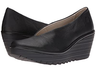 FLY LONDON Yaz (Black Mousse) Women