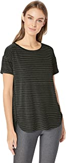 Patterned Studio Relaxed-fit Crewneck T-shirt - fashion-t-shirts Mujer