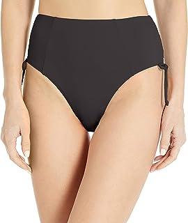 Bikini Lab Women's High Waist Hipster Pant Bikini Swimsuit Bottom