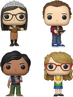 Funko TV: Pop! Big Bang Theory Series 2 - Juego de 2 coleccionistas - Amy, Stuart, Raj, Bernadette