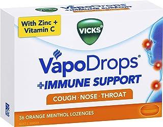 Vicks VapoDrops Immune Support Orange 36pk