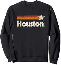 Vintage Houston Texas T-Shirt Houston Strong Stripes Sweatshirt