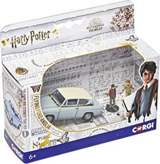Corgi Harry Potter Flying Ford Anglia with Harry & Ron from The Chamber of Secrets 1:43 Diecast Display Model CC99725