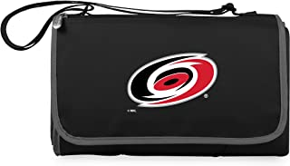 PICNIC TIME Unisex NHL Carolina Hurricanes Outdoor Picnic Blanket Tote 820-00-175-064-10, Black