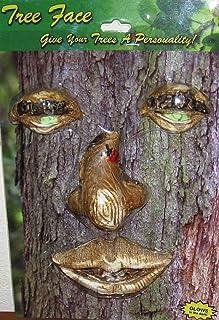 Land & Sea Sleepy Face Tree Decoration