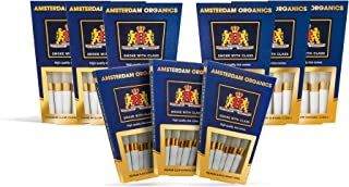 Amsterdam Organics King Size pre roll cones3 6 9 Packs of Rice (9)