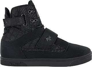 Vlado Footwear Men's Atlas II Black Mono High Top Sneaker US 8.5