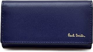 [名入れ可] ポールスミス Paul Smith 正規品 本革 シティエンボス キーケース ショップバッグ付