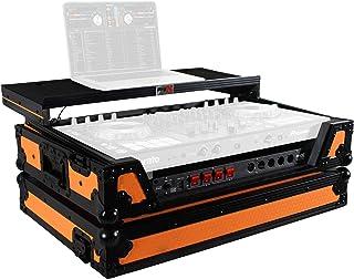 ProX XS-DDJSX WLTOB Flight Case for Pioneer DJ DDJ-SX DDJ-RX & Denon MCX7000 With Sliding Laptop Shelf, LED Lights and Whe...