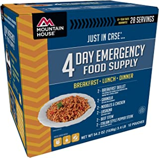 Mountain House Emergency Food Supply Kit