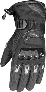 Glaze Men's Motorcycle Thermal Winter Waterproof Biker Windproof Gloves L