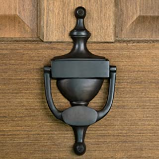 Casa Hardware Brass Door Knocker in Oil Rubbed Bronze Finish