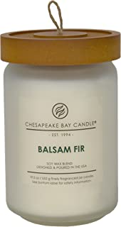 Chesapeake Bay Candle Scented Candle, Balsam Fir, Large Jar