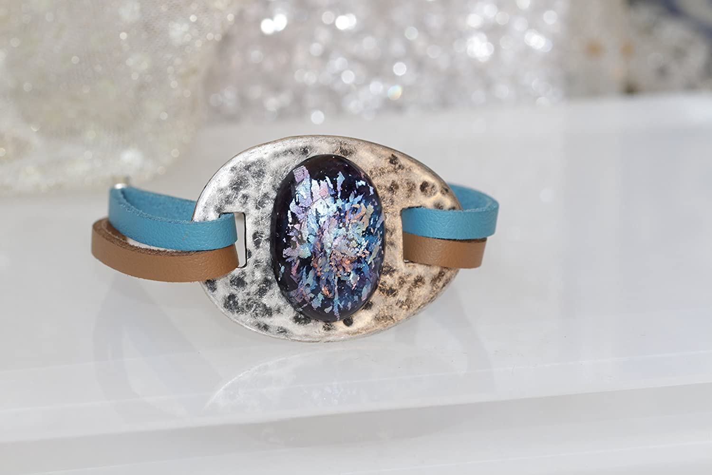 BOHO Large discharge sale BRACELET Antique Silver Unisex National uniform free shipping Crystal Jewelry Bracelet