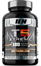 T5 Xtreme for Men and Women – HIGH in CHROMIUM which contributes to normal macronutrient METABOLISM the maintenance of normal BLOOD GLUCOSE LEVELS – 180 Vegetarian Capsules Estimated Price : £ 18,97