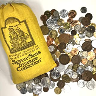 SEVEN SEAS TREASURE COLLECTION - World Collection of 501 Mostly Uncirculated Coins from 1975 and Earlier - RECENTLY FOUND LOST COIN SET from 43 Years Ago!